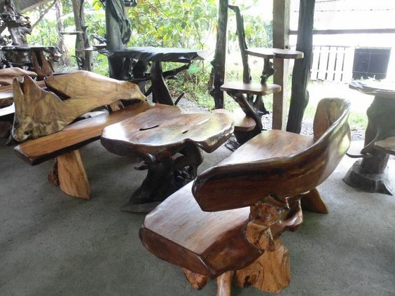 Bench set garden benches and philippines on pinterest for Rosewood garden designs