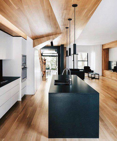 Top 60 Best Wood Ceiling Ideas Wooden Interior Designs Modern