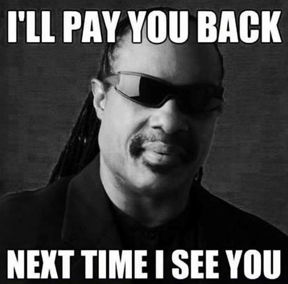 BEST QUOTE OF THE DAY from Steveland Hardaway Morris, better known as Stevie Wonder! 2TU!