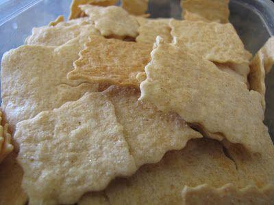 PREPARE TODAY: Homemade Crackers