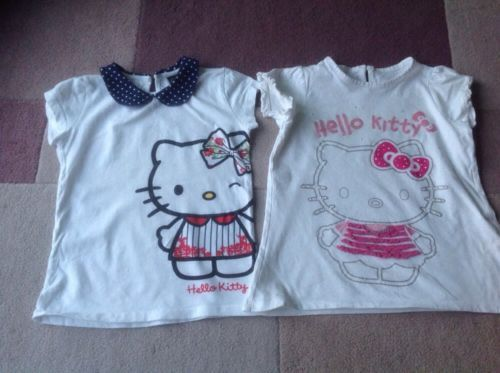 #Girls beautiful #hello kitty t-shirts. size 5-6 #years,  View more on the LINK: 	http://www.zeppy.io/product/gb/2/391408292860/