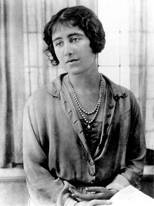 The Lady Elizabeth Bowes-Lyon (1900-2002). She was a daughter of Claude Bowes-Lyon The 14th Earl of Strathmore & Kinghorne and his wife, Cecilia Cavendish-Bentinck. She was The Duchess of York (1923-1936), Queen of the United Kingdom (1936-1952), and Empress of India (1936-1947) as the wife of King George VI. Her children were Queen Elizabeth II and The Princess Margaret.