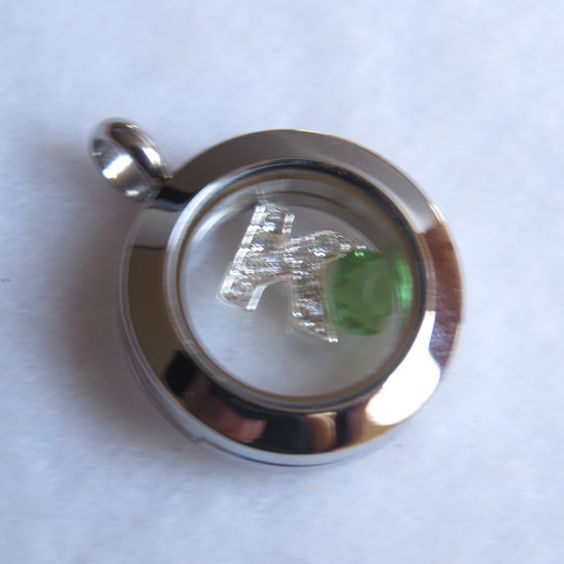 Small 20mm Floating Pendant Only