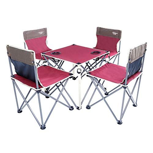 Vimele Outdoor Folding Table And Chair Set Dining Table Picnic