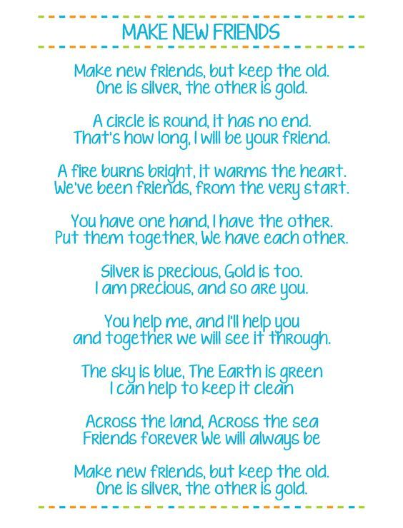 Girl Scout Friendship Song : scout, friendship, There, Verses, Friends, Song., Willing, Second, Ve…, Scout, Songs,, Camping,, Bridging