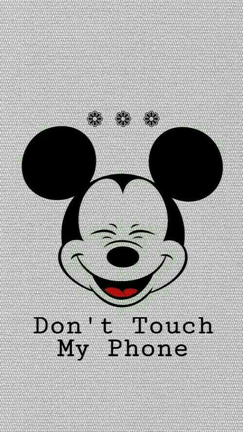 Don T Touch My Phone Cutedemand Mickey Mouse Wallpaper Iphone Cartoon Wallpaper Iphone Wallpaper Iphone Disney
