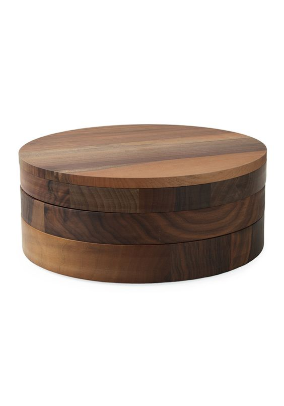 walnut jewelry case ++ saskia diez . e15