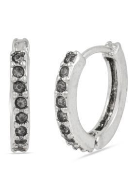 Kenneth Cole  Pave Small Hoop Earring
