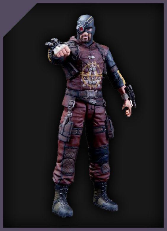 DC Collectibles Batman Arkham City: Series 4 Deadshot Action Figure