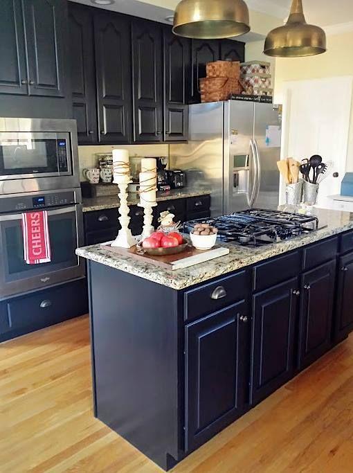 Lamp Black Kitchen Cabinets Kitchen Cabinets On A Budget Black Kitchen Cabinets Diy Kitchen Decor