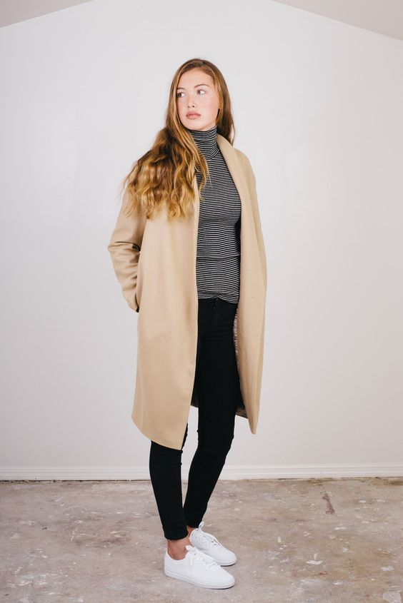 Long Camel Wool Coat | Coats Products and Wool
