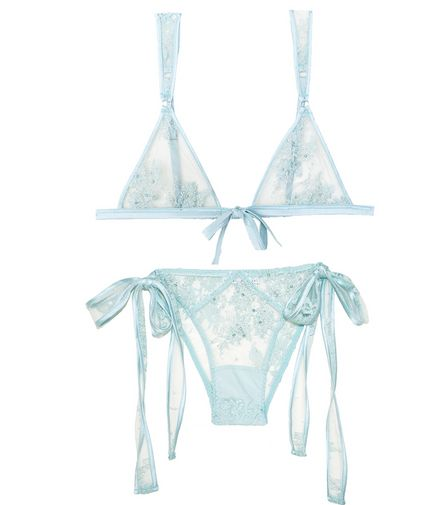 Shop the Beaded Lace Collection and luxury lingerie at Fleur du Mal.