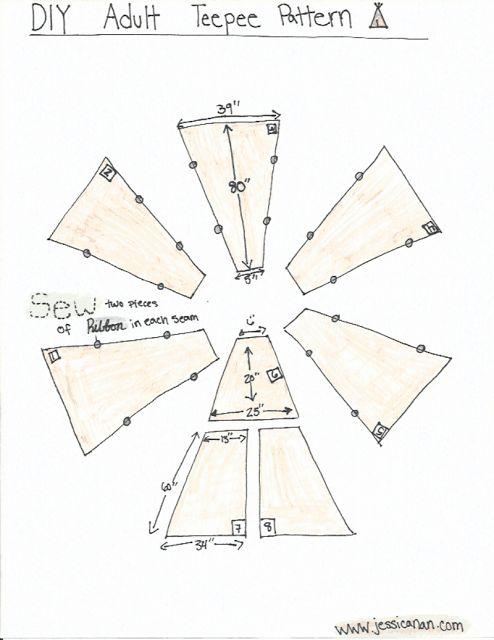jessica nan diy adult teepee tutorial tullie mae of. Black Bedroom Furniture Sets. Home Design Ideas