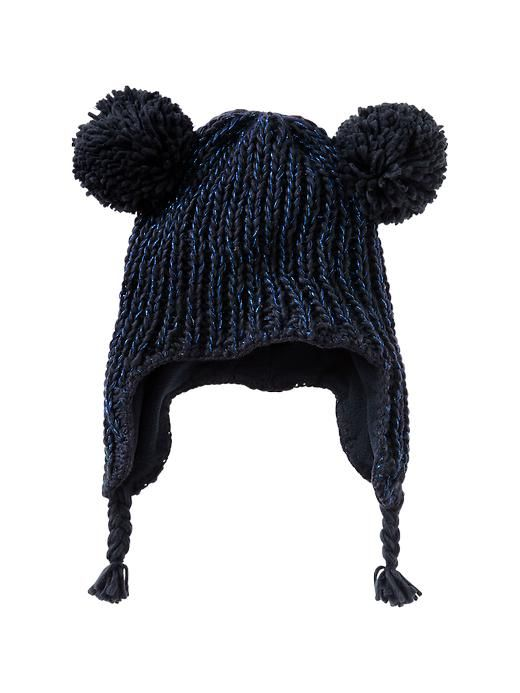Gap Lurex Bear Hat