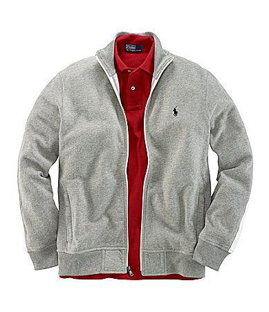 Polo Ralph Lauren FullZip Premier Fleece Track Jacket #Dillards