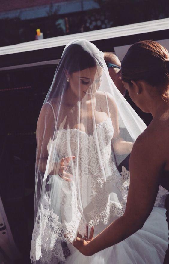 Veils, My Wedding Day And My Best Friend On Pinterest
