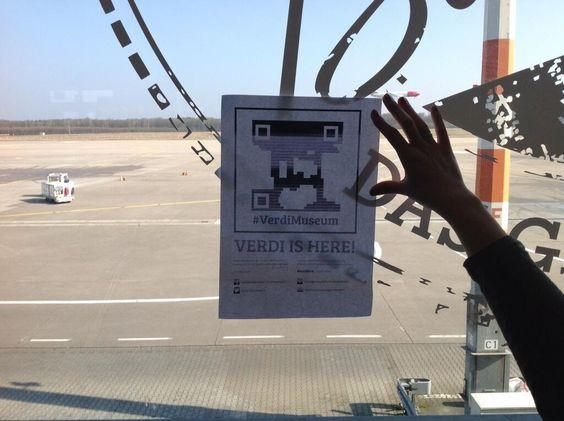 @#VerdiMuseum #foundverdi ritrovamento all'aeroporto di Colonia