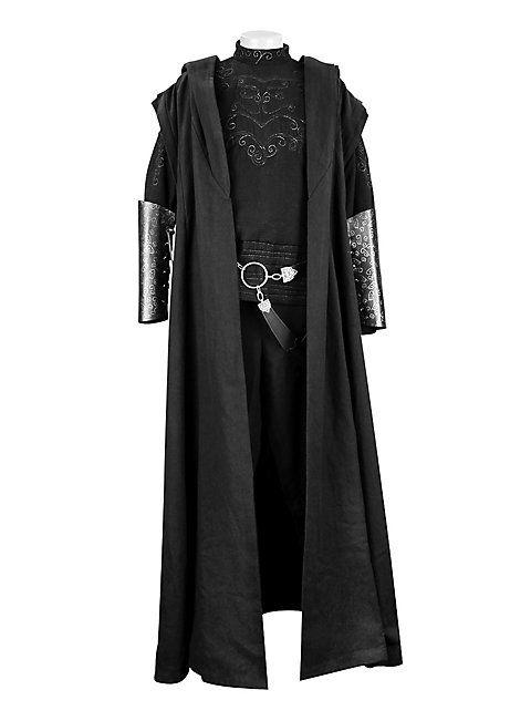 Harry Potter Robe Todesser Mittelalterliche Mode Harry Potter Robe Umhang