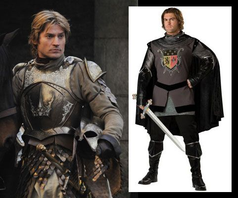 game of thrones halloween costumes | jamie game of thrones costume ...