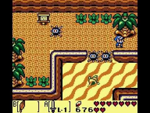 Gameboy Color Legend Of Zelda Links Awakening