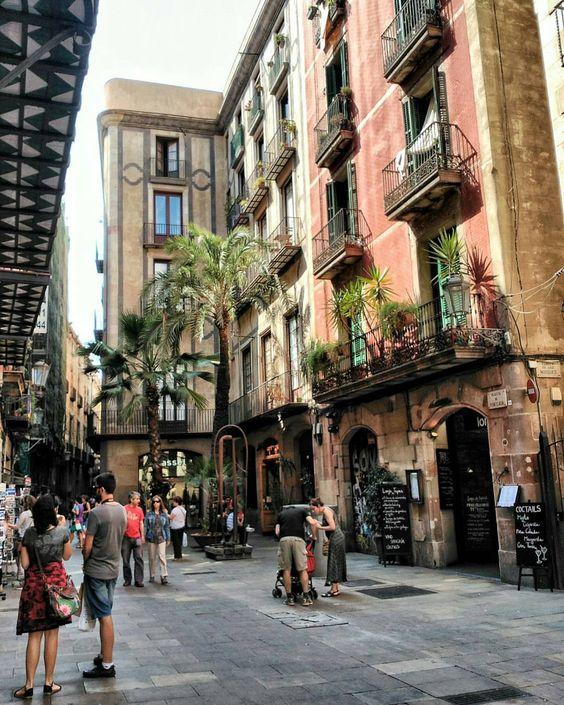Strolling in El Born ~ C/ Montcada, Barcelona More