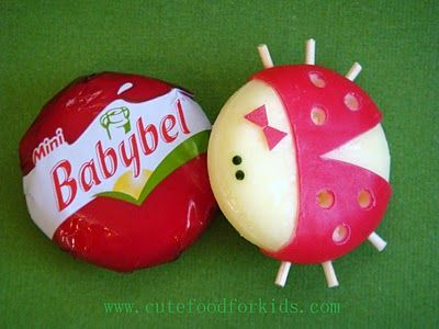 Adorable Babybel bugs!