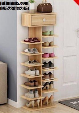 Rak Sepatu Minimalis Kayu Jati Terbaru Rak Rak Sepatu Aksesori