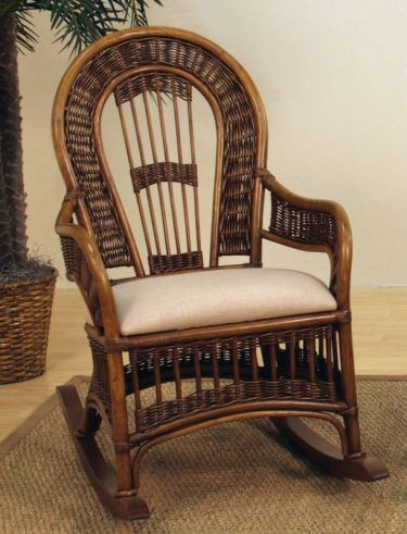 ... cushions rocking chairs chairs rattan indoor wicker rocking chair