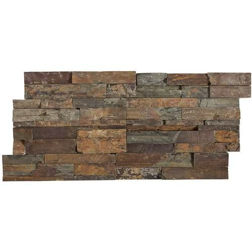Tile Natural And Stacked Stones On Pinterest