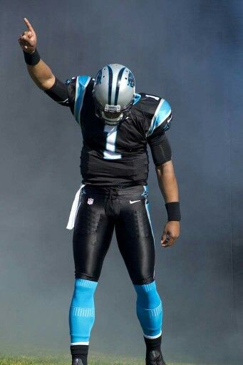 Cam the quarterback. I love this uniform