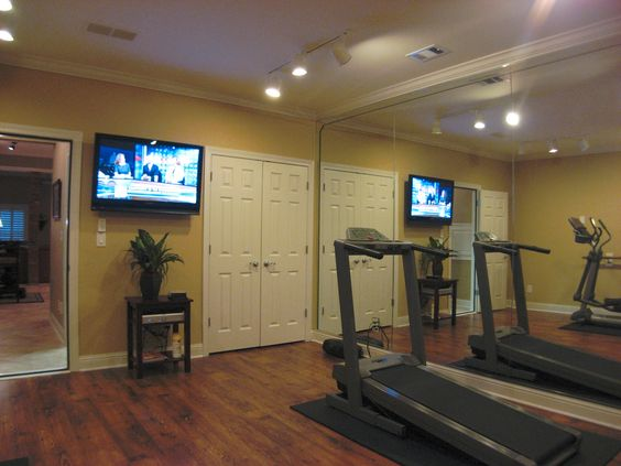 Pinterest the world s catalog of ideas for Basement workout room