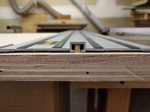 Dewalt Track Saw Crosscut Table Woodbin In 2020 Dewalt Saw Straight Edges