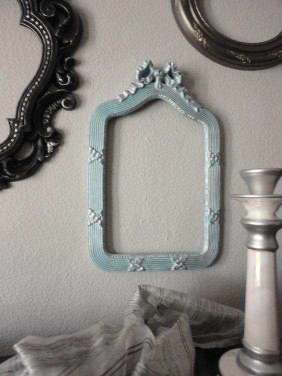 Marcos de espejos sin cristal marcos de espejos pinterest for Marcos de espejos