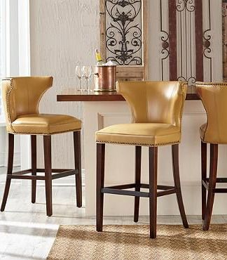Morgan Bar Amp Counter Stool Leather Leather Bar Stools