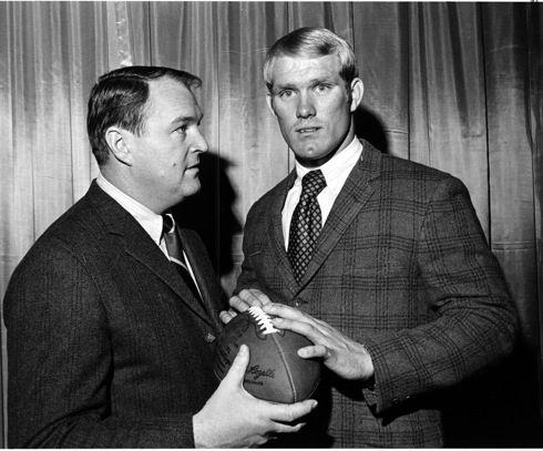 Chuck Noll & Terry Bradshaw