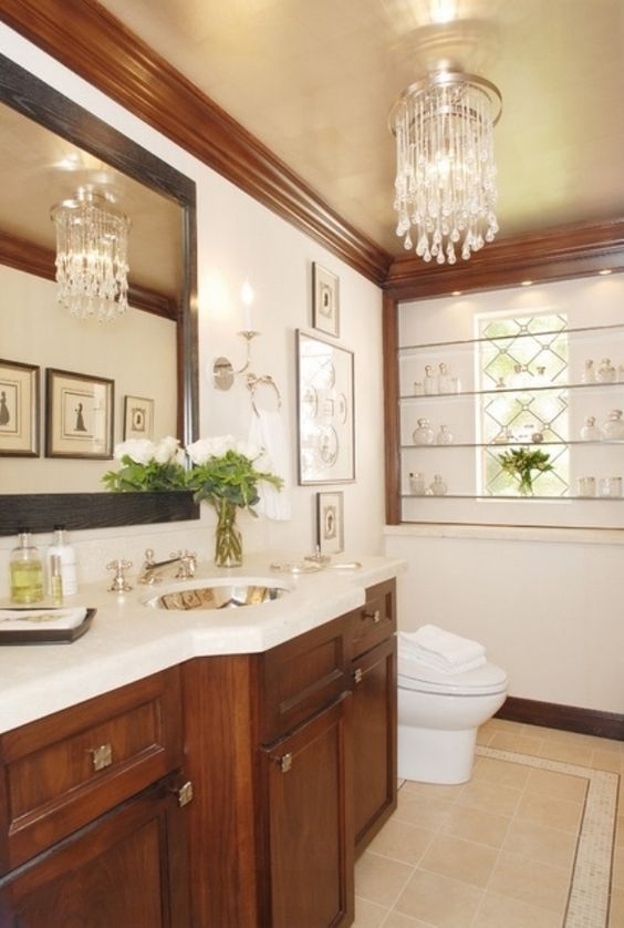 Powder Room Chandelier