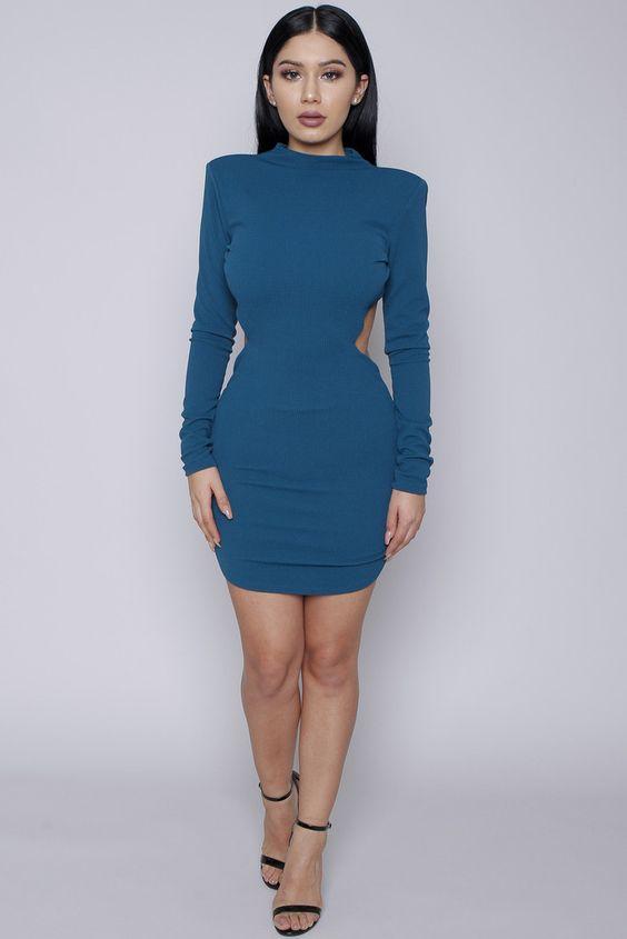 Teal Gem Dress