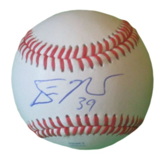 Devin Mesoraco Autographed Rawlings ROLB1 Leather Baseball, Proof Photo