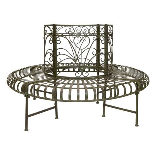 Found it at Wayfair.co.uk - Lucton Steel Tree Bench