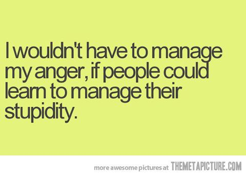 Marvelous Dumb People Quotes Funny Anger Quote People Dumb | QUOTES | Pinterest | Funny  Anger Quotes, Bitter And Funny Quotes Nice Look