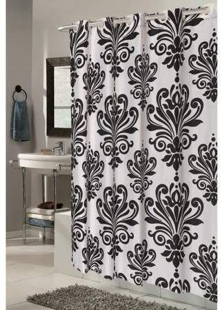 Home Hookless Shower Curtain Teal Shower Curtains White Shower