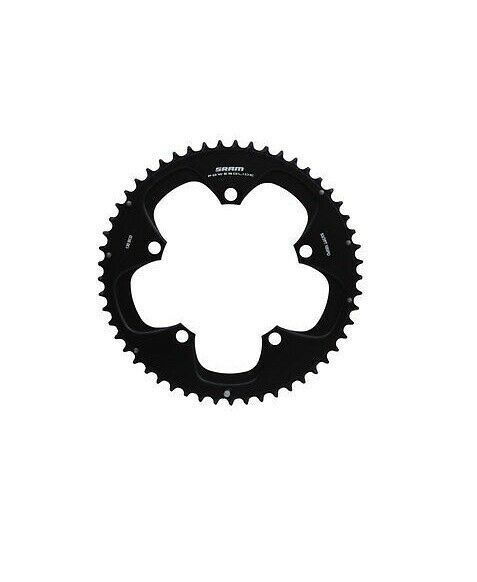 SRAM Red Alloy Chainring 130mm x 53 Teeth Bicycle Chain Ring 130  53T Black