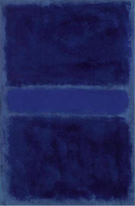Rothko #blue