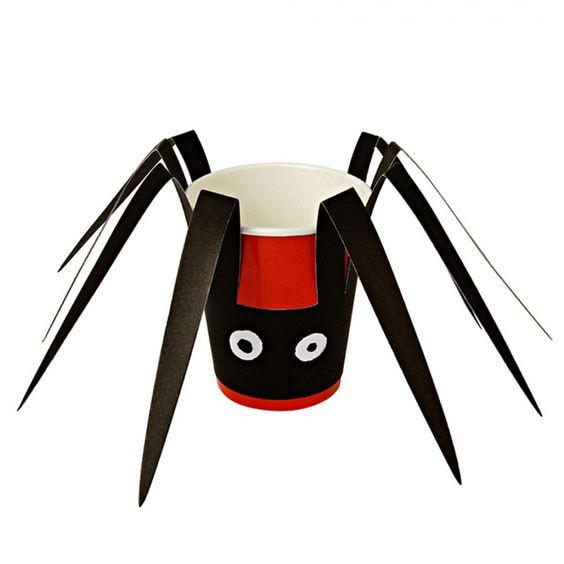 Set de 12 gobelets araignée - Chocolat Show