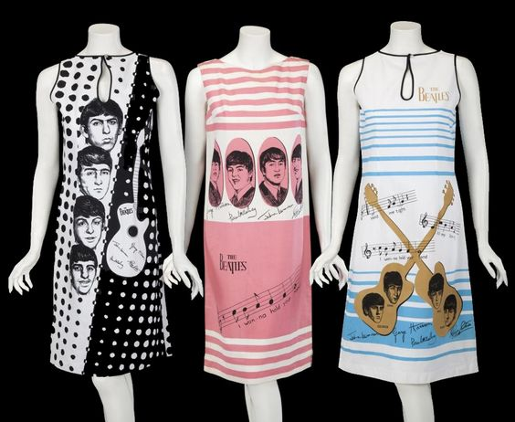 The Beatles Shift Dresses: