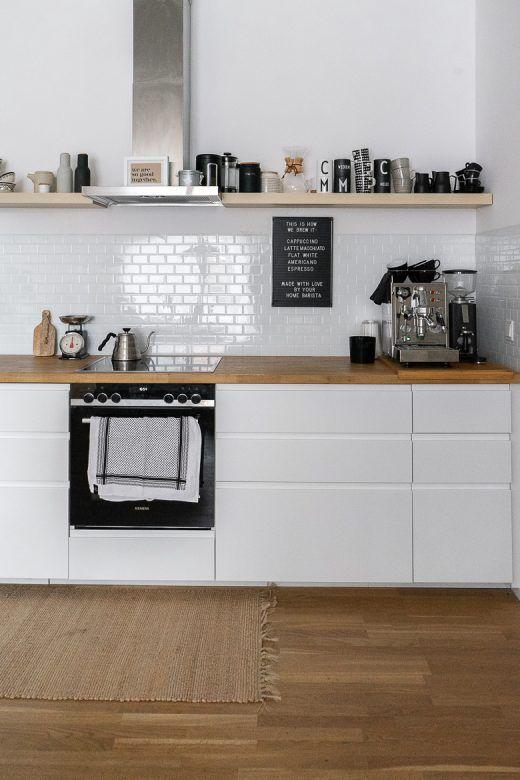 Ikea Kuche Planen Und Aufbauen Tipps Fur Eine Skandinavische Kuche Dreieckchen In 2020 Kuche Planen Ikea Kuche Ikea Kuche Inspiration
