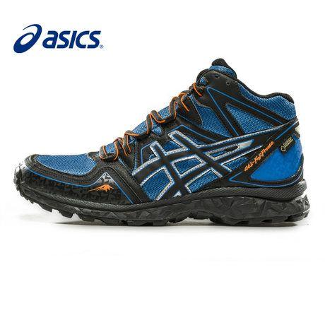 asics gel-fujifreeze waterproof hiking shoes cross country running ...