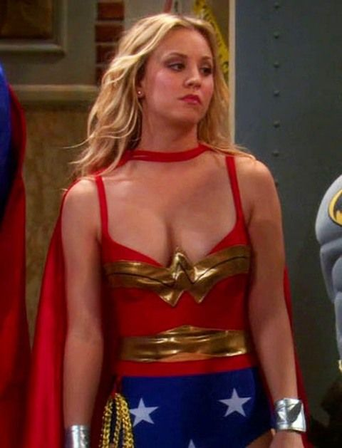 Women wonder kaley cuoco