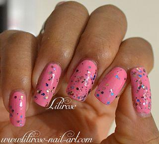 Artiste & Sweet Pea LM COSMETIC Lilirose Nail Art