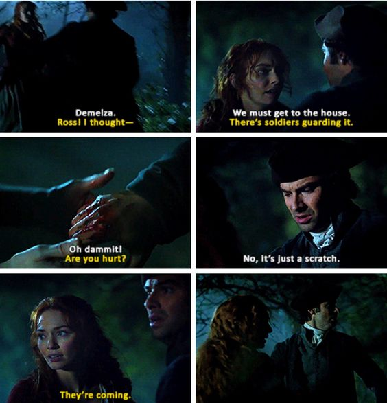 """""""There's soldiers guarding it"""" - Ross and Demelza #Poldark"""
